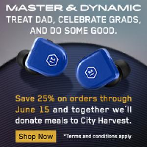 Master & Dynamic US海淘返利